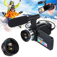 Digitalkamera 1080P Video 18X ZOOM 24MP DV Camcorder Recorder mit Mikrofon