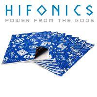 Hifonics 140dB | 1,48m² AluButyl | 2 mm dick und selbstklebend