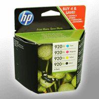 HP 920XL - 4er-Pack - Hohe Ergiebigkeit - Farbe (Cyan, Magenta, Gelb, Schwarz) - Original - Tintenpatrone