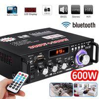 600W bluetooth Stereo Audio Verstärker Car Home HiFi Musik SD USB FM AMP