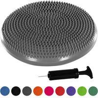 MOVIT® Ballsitzkissen, Sitzhilfe Durchmesser 33 cm, Grau