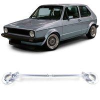 Aluminium Domstrebe vorne 4tlg verstellbar für VW Golf 1 GTI 74-93