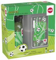 emsa KIDS Set Trinkflasche + Brotdose Motiv: Fußball