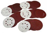 100 Klett Schleifscheiben 125 mm Exzenter Schleifpapier Mix