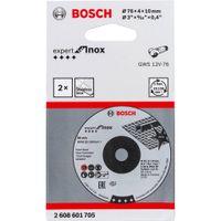 Bosch Schruppscheibe 76x4x10mm ExpertforInox