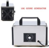 10g/h Profi Luftreiniger Ozonator Ozongenerator Ozongerät Edelstahlgehäuse mit Timer 220V (EU-Stecker)