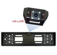 Rückfahrkamera Nummernschild Kennzeichen SET mit LED Auto KFZ EINPARK-HILFE