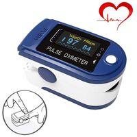 Fingerspitzen-Pulsoximeter Oximeter mit Farbdisplay zur Messung von Puls und Sauerstoffsättigung am Finger