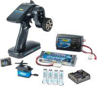 Carson Fernsteuerung RC-Reflex Pro 3 Elektro Set Akku Lader Empfänger Servo 6KG