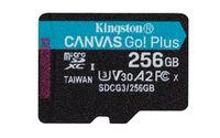 Kingston Canvas Go! Plus - 256 GB - MicroSD - Klasse 10 - UHS-I - 170 MB/s - 90 MB/s Kingston