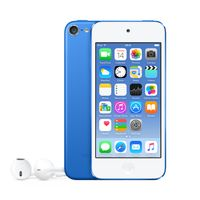 Apple iPod touch 16GB, MP4-Player, 16 GB, Lightning, Integrierte Kamera, Blau, Kopfhörer enthalten