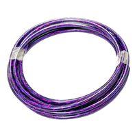 Bremszughülle bowdenzug bremszug hüllen lila teflon 5mm länge 3m kabelgehäuse fahrrad