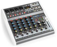 Vonyx VMM-K602 6-Kanal Music Mixer Bluetooth USB-Audio-Interface
