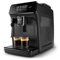 Philips Kaffee-Vollautomat Series 1200 EP 1220/00, Farbe: Mattschwarz