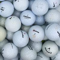 100 Marken Mix Crossgolf / Practise Lakeballs / Golfbälle
