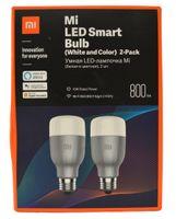 Xiaomi Mi LED Smart Glühbirne weiß und Farbe bunte Glühbirne, WiFi E27 2 x
