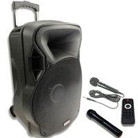 700W PA Musikanlage, USB/SD, Gitarreneingang, Mikrofon, Party-Licht