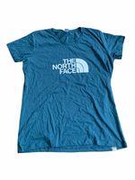 The North Face Damen T-Shirt S/S EASY T-Shirt, Größe:L, Farben:mallard blue