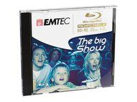 EMTEC Blu-ray Disc 25GB wiederbeschreibbar - 5stk Jewel Case
