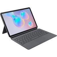 Samsung Keyboard Cover EF-DT860 für Galaxy Tab S6, Gray (EF-DT860UJEGWW), Farbe:Grau