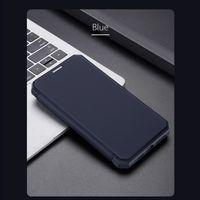 Premium Magnetischen Flip Fall Für IPhone 12 mini Schutzhülle Anti-Scratch Mehrfarbig Für iPhone 12 Mini Blau Magnetic Flip Case