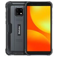Blackview BV4900 Pro IP68 Robuste NFC Handys 4 GB 64 GB Octa-Core Android 10 Wasserdichte 5580 mAh 5,7 zoll 4G Smartphone(Schwarz)