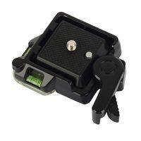Schnellwechselplatte fuer DSLR-Kameras & Stativ & Einbeinstativ