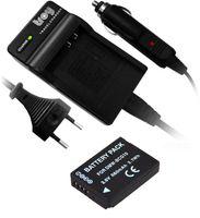 Akku + Ladegerät für Panasonic DMC-TZ7 TZ10 TZ18 TZ22 TZ31 TZ36 baugleich zu BCG10 DMW-BCG10E