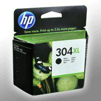 HP Tintenpatrone Nr. 304XL schwarz | Reichweite: ca. 300 Seiten