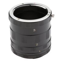 Macro Extension Tube Ring Für Canon EOS EF / EF-S Montieren Kamera DSLR SLR Rebel 1000d