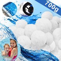 KESSER® Polysphere Filterbälle Filter Sandfilteranlage 700g ersetzen 25kg Filtersand Zubehör Ersatz Poolfilter Filteranlage, Größe:700g