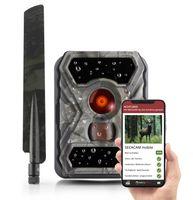 SECACAM Raptor mobile - Wildkamera mit SIM-Karte, sendefähig (4G/LTE) mit Handy-Übertragung & App