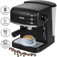 Mesko Espressomaschine Kaffeemaschine Cappuccinomaschine Milchaufschäumer