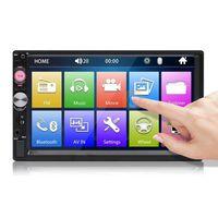 7 Zoll 2 DIN Auto MP5 Player Stereo Radio FM USB AUX HD Bluetooth Touchscreen Unterstützung Rückfahrkamera