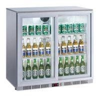 Kühlschrank mit Glastür 900 x 520 x 900 mm