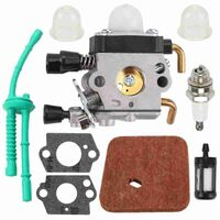 Vergaser Für STIHL FS38 FS45 FS55 KM55 Luft Kraftstoff filter Carb Zubehör