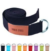 Yogagurt in verschiedenen Farben - Schwarz