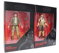Star Wars The Black Series - Cassian & Stormtropper 2er Pack Actionfiguren