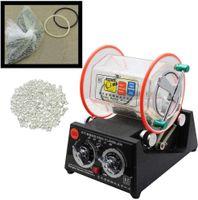 Poliermaschine Rotationspolierer Poliertrommel Trowalisiermaschine Schmuck Kugelmühle Polierer (3kg)