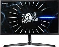 SAMSUNG C24RG54FQU / 1920 x 1080 / 16:9 / 4 ms / HDMI / Display Port / 144 HZ / FeeSync / Curved / Gaming, Farbe:Schwarz