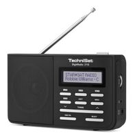 TechniSat DigitRadio 210 DAB+ Digitalradio schwarz silber