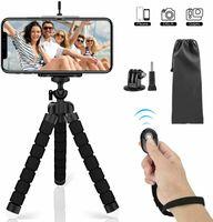 Handy Stativ, Flexibel Smartphone Stativ mit Bluetooth Fernsteuerung Shutter