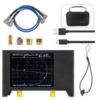 2,8 Zoll Bildschirm 3G Vektor Netzwerk analysator SAA 2N NanoVNA V2 Antennenanalysator Kurzwellen HF UKW UHF mit Eisengehaeuse