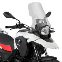 GiVi Windschild transparent, 410 mm hoch, 390 mm breit für BMW G 650 GS (11-17) - mit ABE