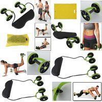 WYCTIN Bauchmuskeltrainer Bauchtrainer Roller FItnessgerät AB Wheel Bodyshaper Grün