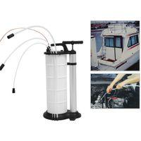 Öl Flüssigkeitsabsaugpumpe Ölabsaugpumpe 9L Ölwechsel Absaugen Handpumpe DHL