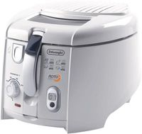 Delonghi F 28533 Roto-Fritteuse Weiss