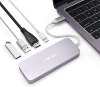 Minix Notebook Dockingstation Grau Passend für Marke Apple MacBook