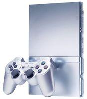 Sony Console Ps2 Silver Compatta
