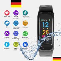 Smartwatch, Fitness Uhr, Fitness Tracker, Bluetooth Armband, Sport Uhr, Android, Wasserdicht, Smartwatches, Sportuhr